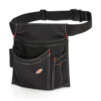 5-Pocket Single Side Tool Pouch / Work Apron in Black