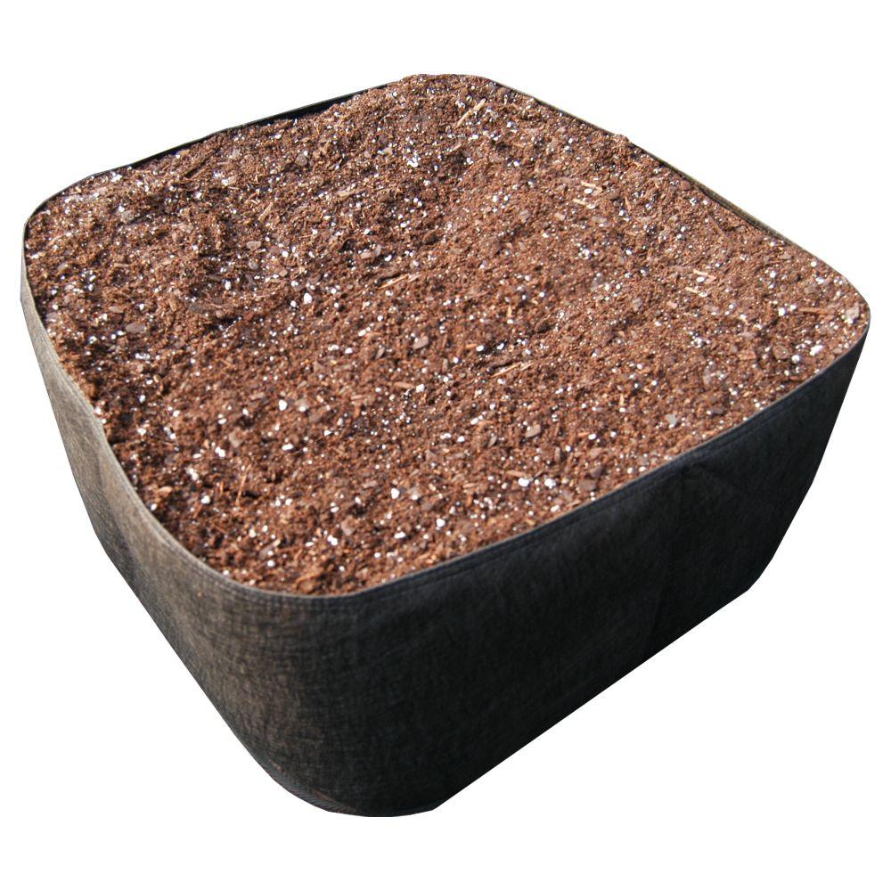 EZ- Gro 2 ft. x 2 ft. Black Instant Raised Planter Bed-3000 - The ...