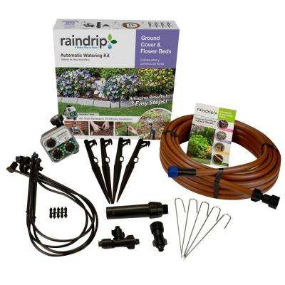 Ground Cover and Flower Bed Drip Watering Kit