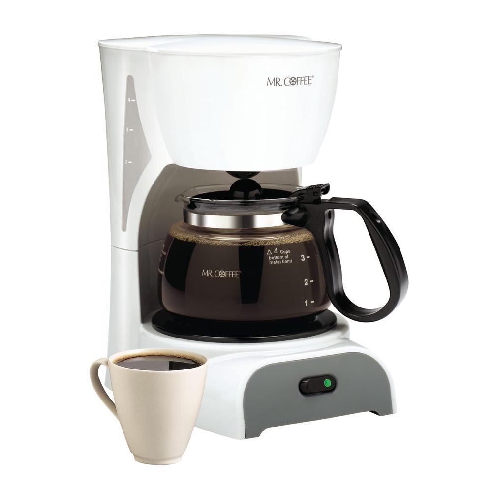 Mr. Coffee 32 oz Coffeemaker- White-DISCONTINUED