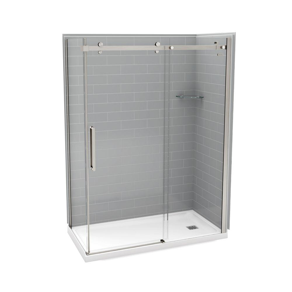 36 inch corner shower kit. MAAX Utile Metro 32 in  x 60 83 5 Right Drain Corner