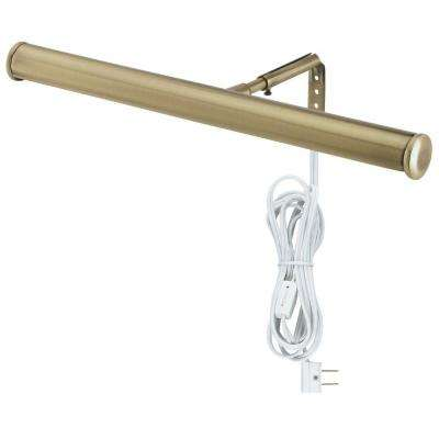 Antique Brass 14 in. Picture Light