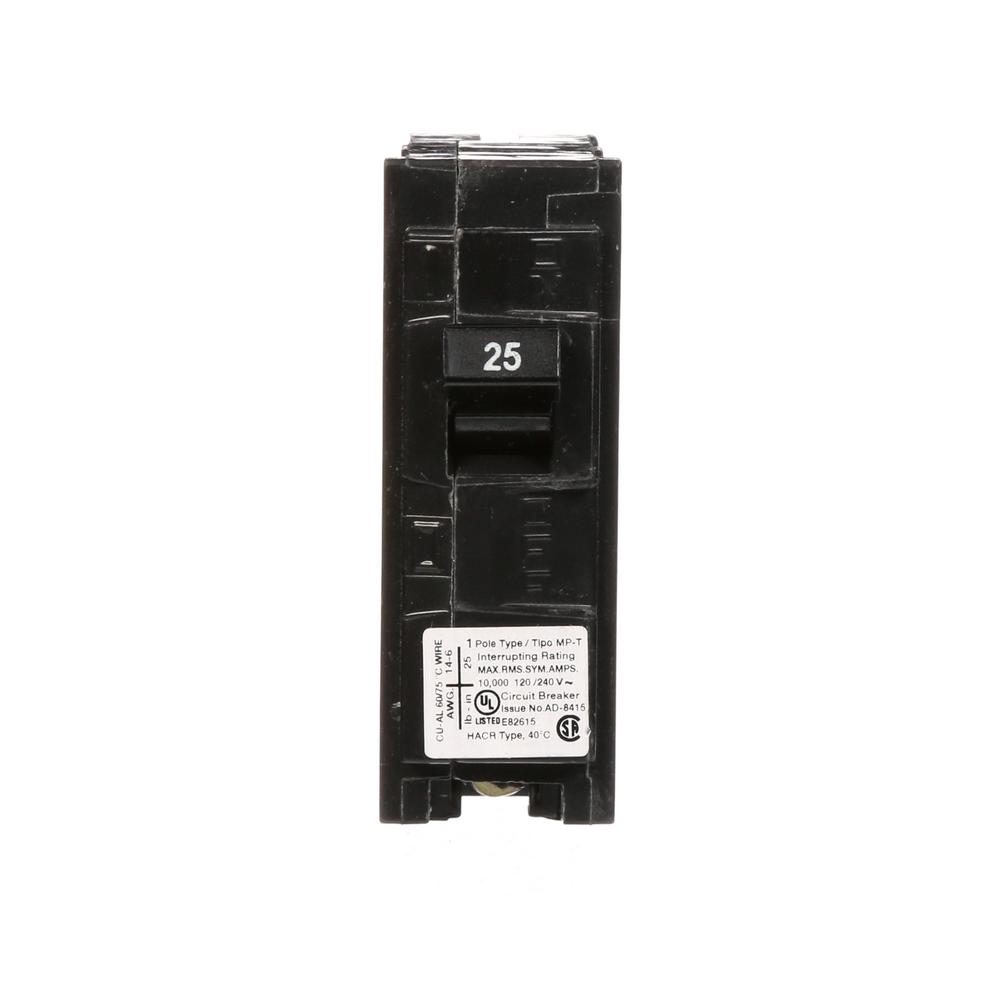 Murray 25 Amp Single Pole Type Mp Circuit Breaker Mp125
