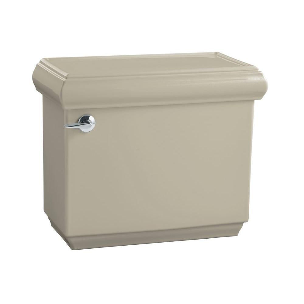 Memoirs Classic 1.6 GPF Single Flush Toilet Tank Only with AquaPiston Flush Technology in Sandbar