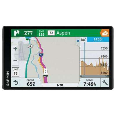 RV 770LMT S Travel Planner and GPS Navigator with Bluetooth 6.95 in.