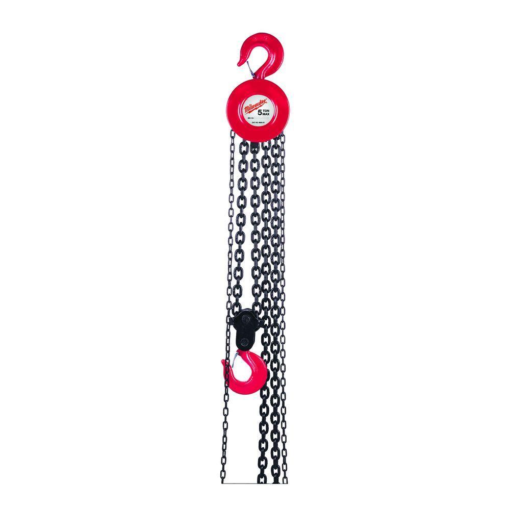 Milwaukee 3 Ton 15 ft. Hand Chain Hoist by Milwaukee