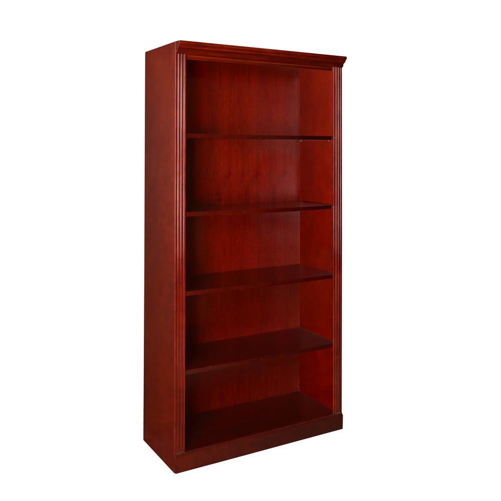 72 in. Prestige Mahogany  Bookcase