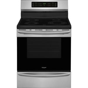 30 inch 5.4 cu. ft. Induction Range with Self-Cleaning Oven in Smudge-Proof Stainless Steel by