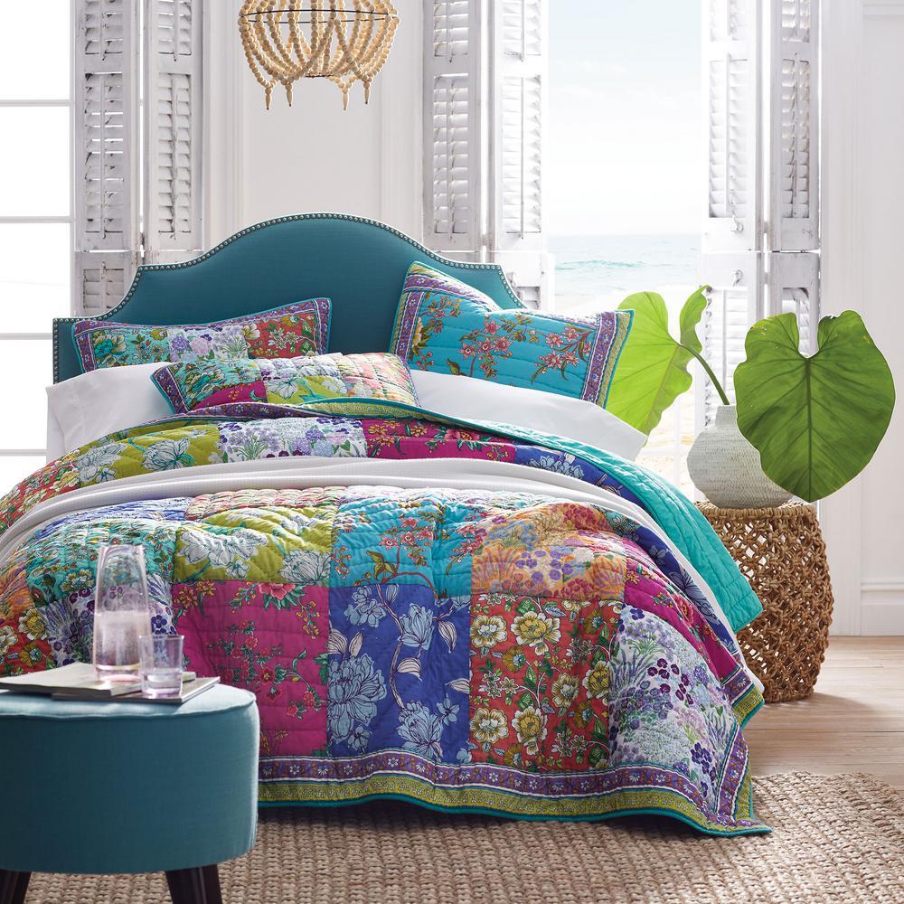 Barlow Floral Cotton Quilt