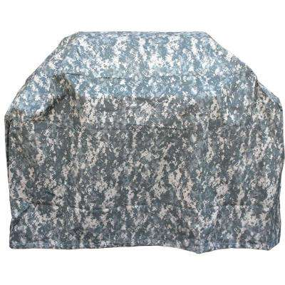 US Army 71 in. Camo Grill Cover