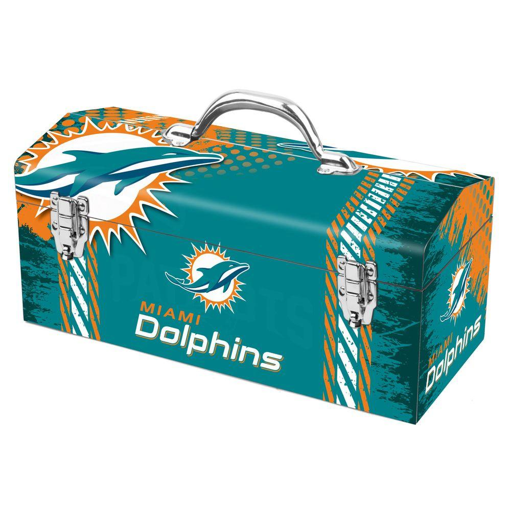 Team ProMark 7.2 in. Miami Dolphins NFL Tool Box