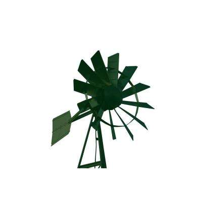 20 ft. Forest Green Powder Coated Windmill Aeration System