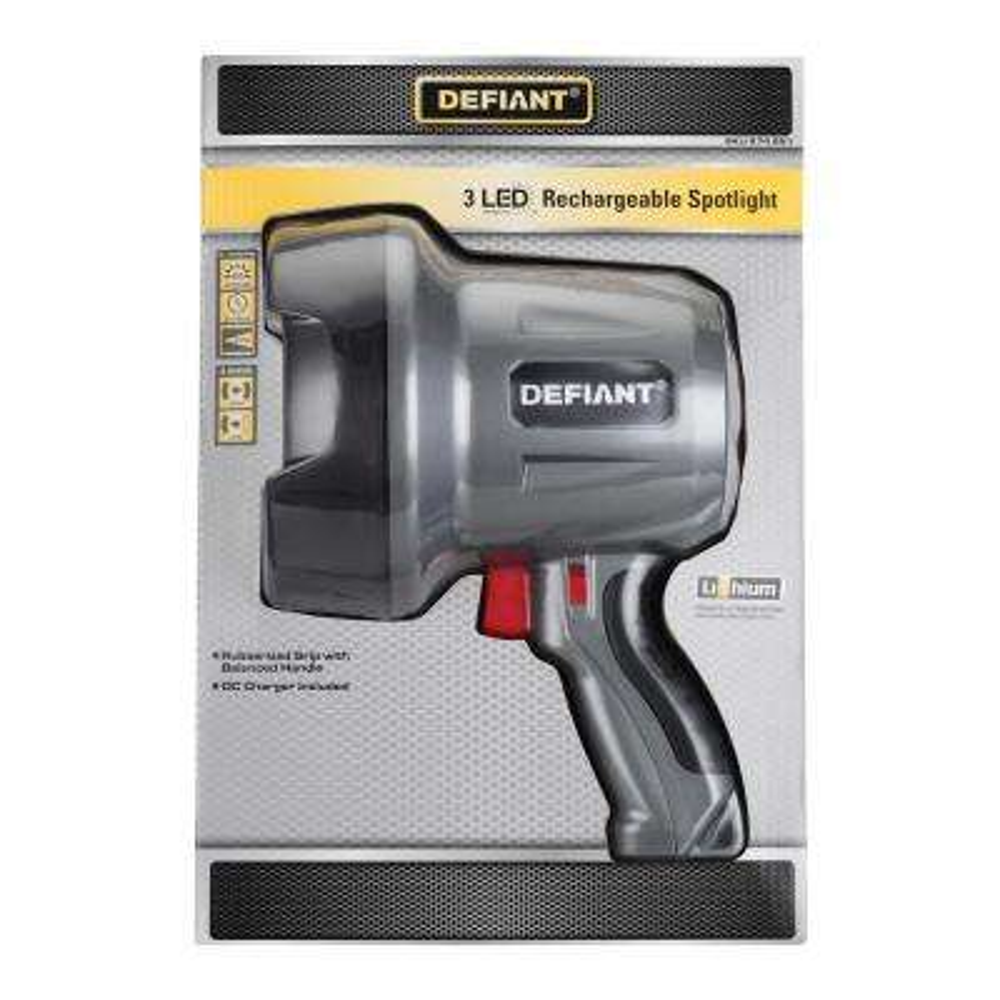 450-Lumen Rechargeable LED Spotlight