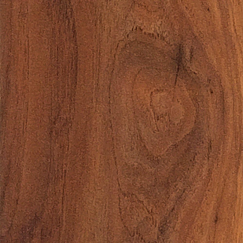 Longview Pecan Laminate Flooring - 5 in. x 7 in. Take Home Sample