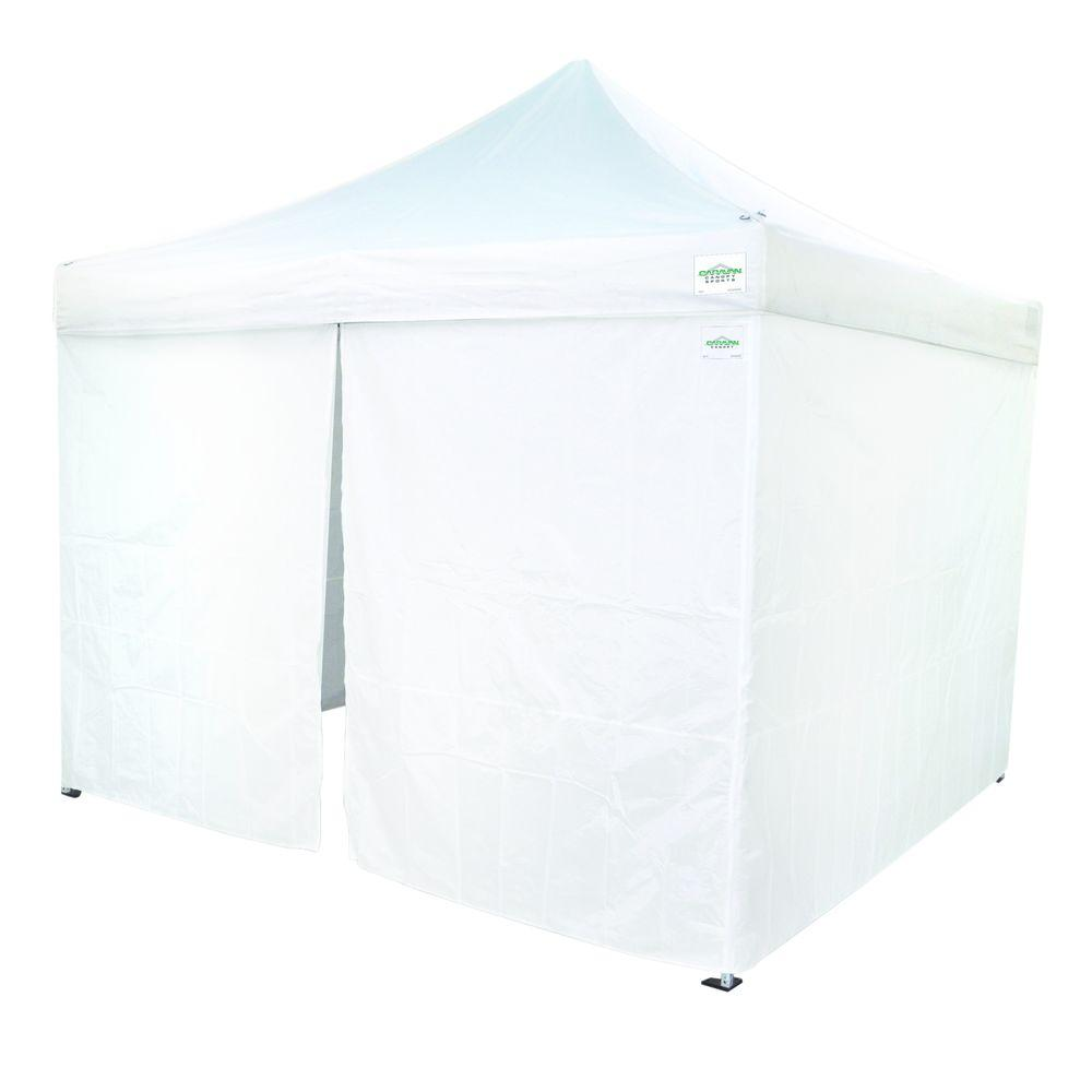 Sidewall Canopy Set  sc 1 st  Home Depot & Caravan Canopy - Canopies - Sheds Garages u0026 Outdoor Storage - The ...