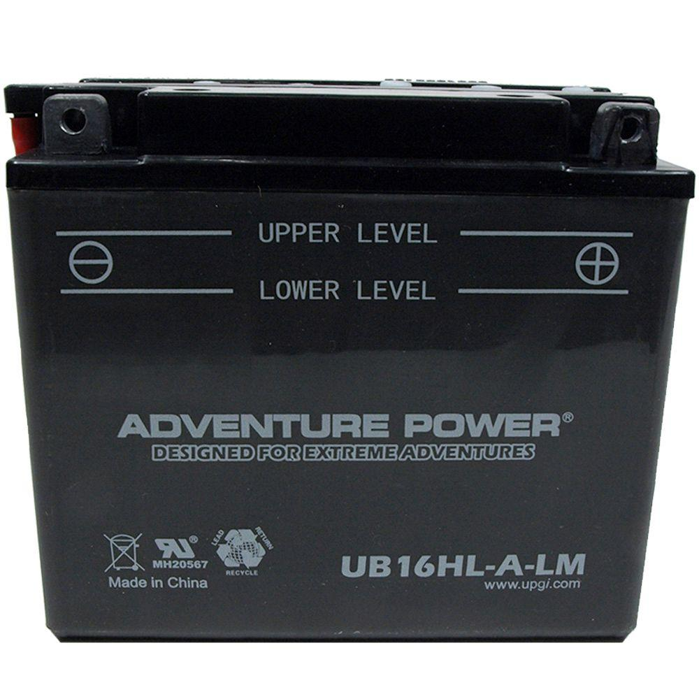 The Upgrade Group Conventional Wet Pack 12- Volt 19 Ah Ca...
