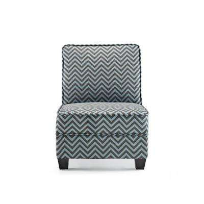 Ryder Teal Ziggi Accent Chair  sc 1 th 225 & Chevron - No additional features - Accent Chairs - Chairs - The Home ...