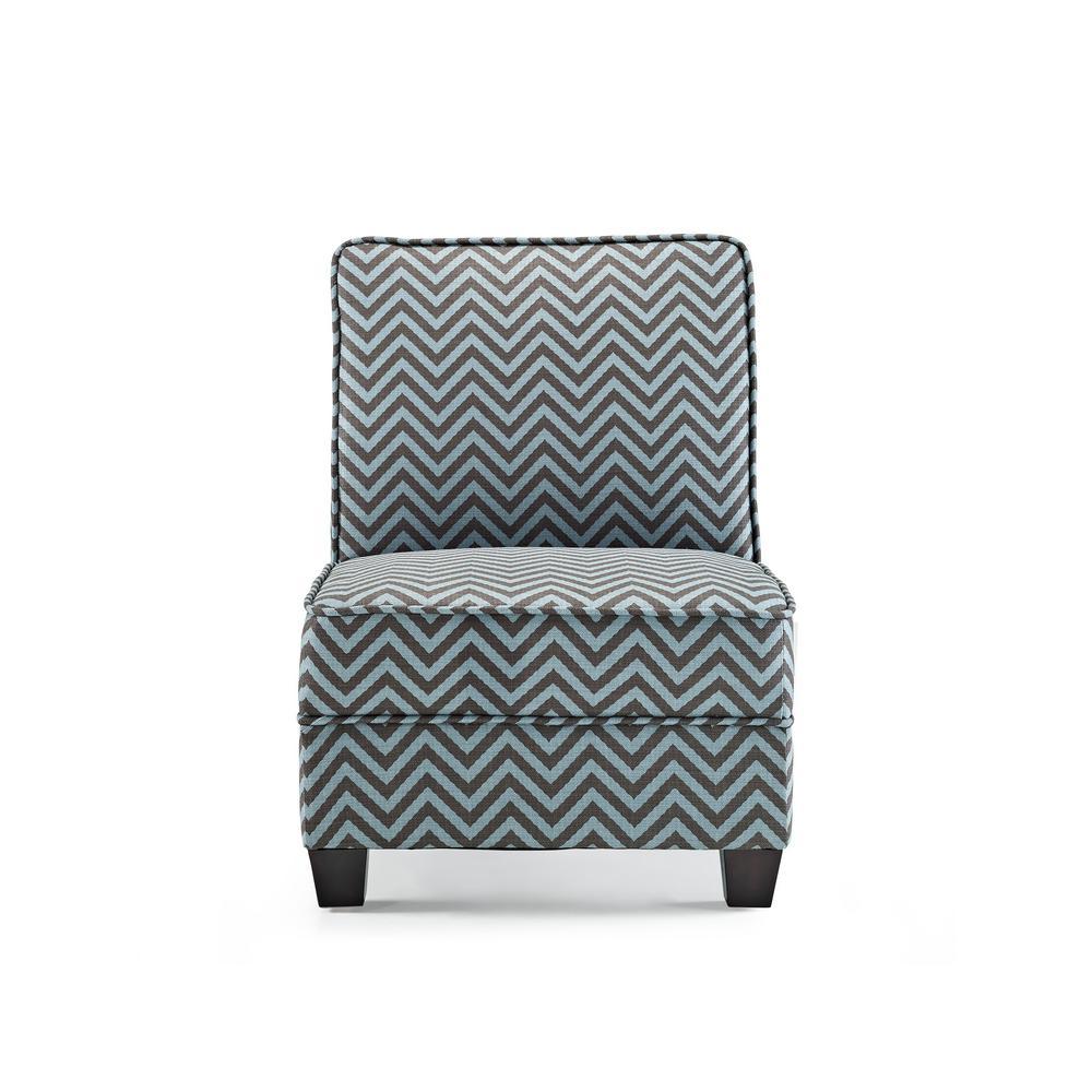 Ryder Teal Ziggi Accent Chair