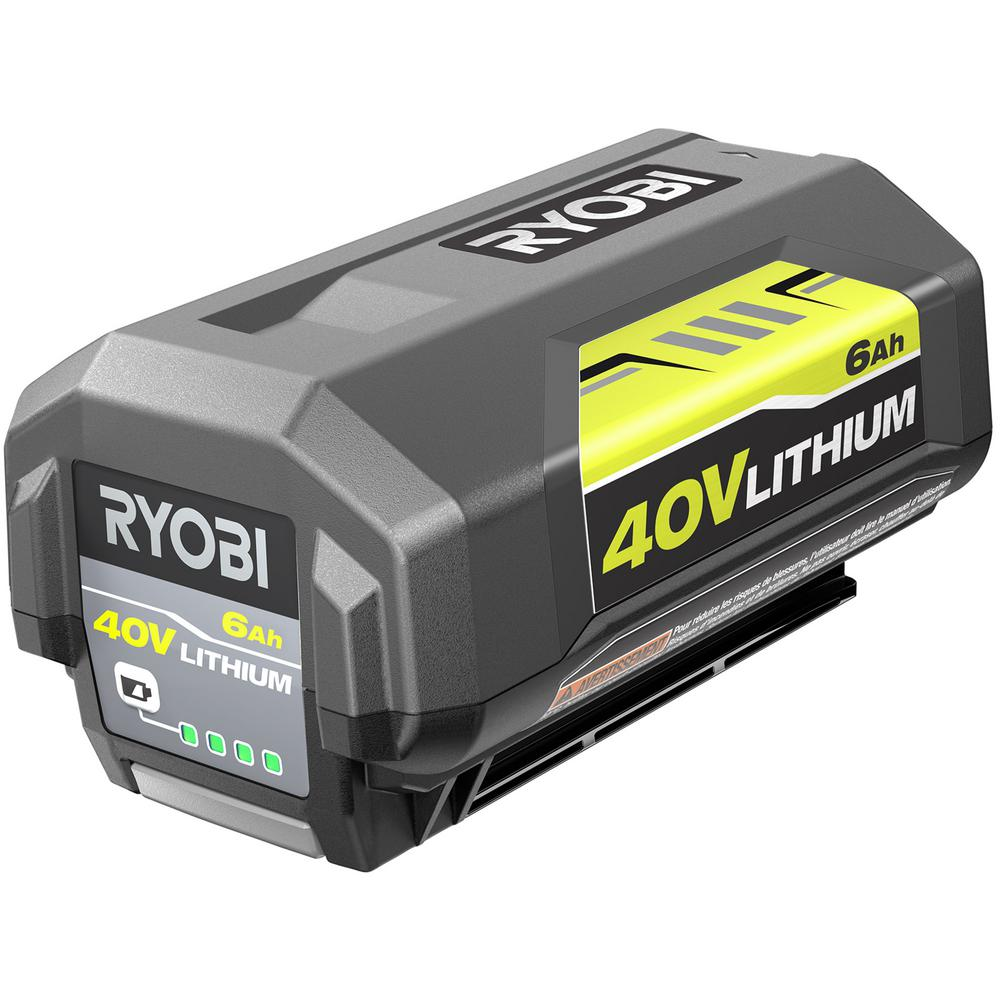 RYOBI RYOBI 40-Volt Lithium-Ion 6 Ah High Capacity Battery