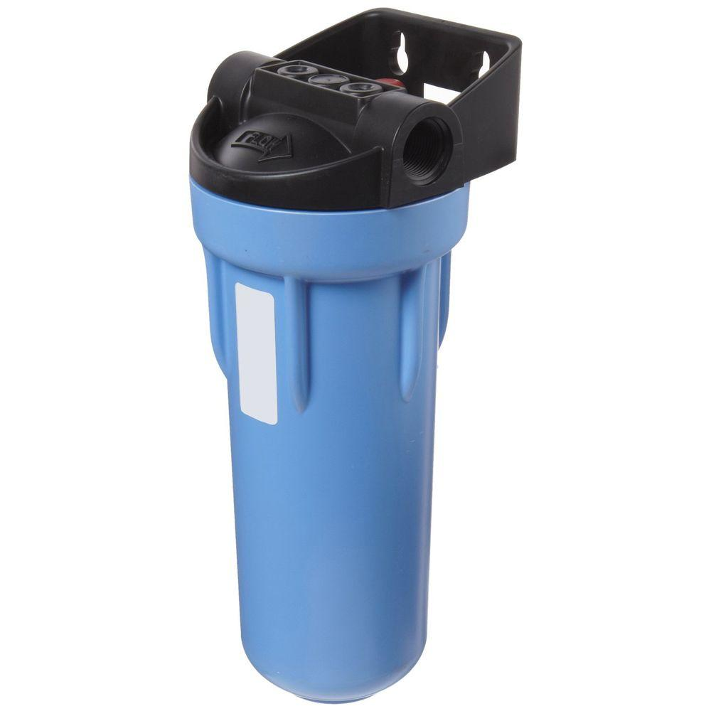 150574 3/4 in. Inlet/Outlet 3G Blue Filter Housing for Standard Filters