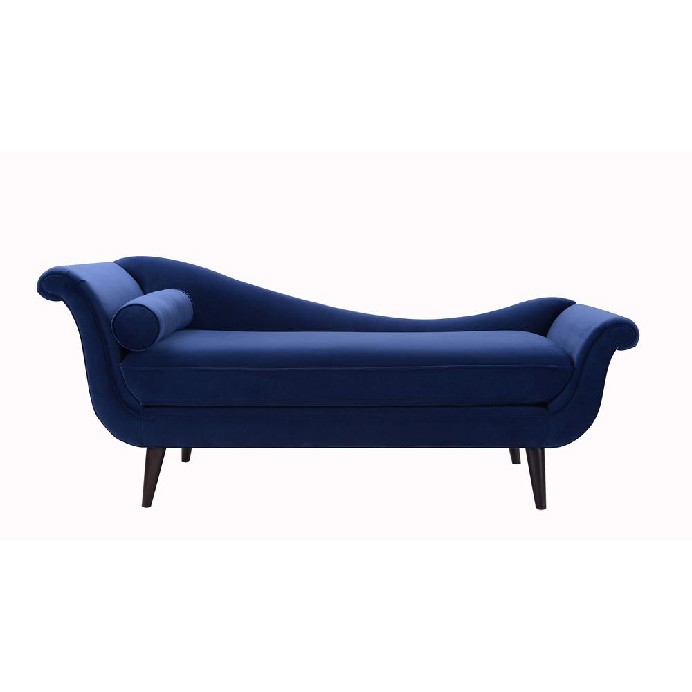 Sandy Wilson Navy Blue Kai Chaise Lounge