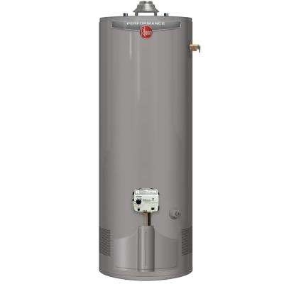 Performance 50 Gal. Short 6-Year 40,000 BTU Ultra Low NOx (ULN) Natural Gas Tank Water Heater