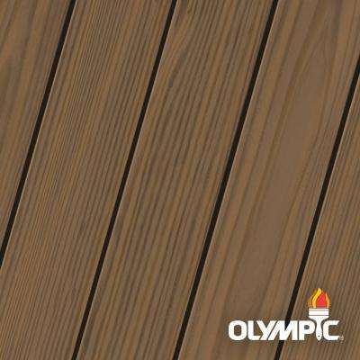 Elite 8 oz. Black Walnut Semi-Transparent Exterior Wood Stain and Sealant in One