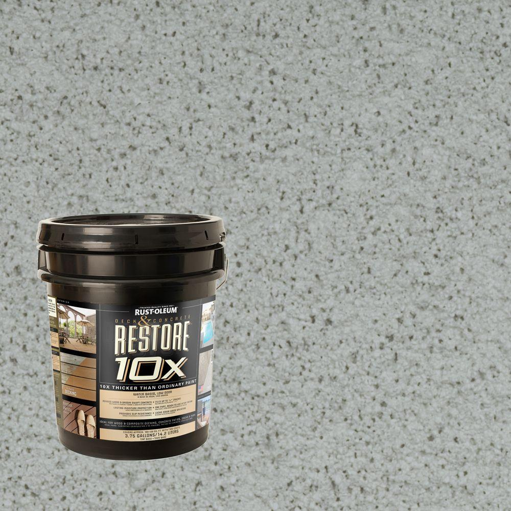 Rust-Oleum Restore 4-gal. Blue Sky Deck and Concrete 10X Resurfacer