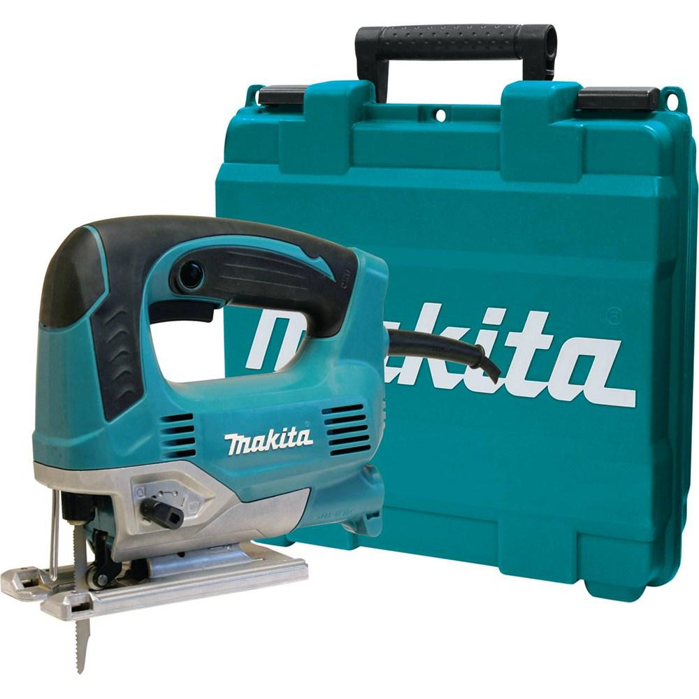 Makita 65 amp corded variable speed lightweight top handle jig saw makita 65 amp corded variable speed lightweight top handle jig saw with case keyboard keysfo Choice Image