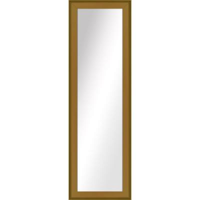 Large Rectangle Antique Gold Art Deco Mirror (52.5 in. H x 16.5 in. W)