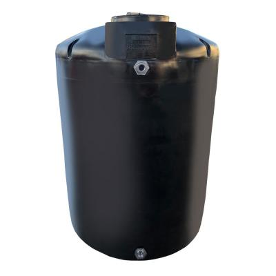 700 Gal. Black Vertical Water Storage Tank