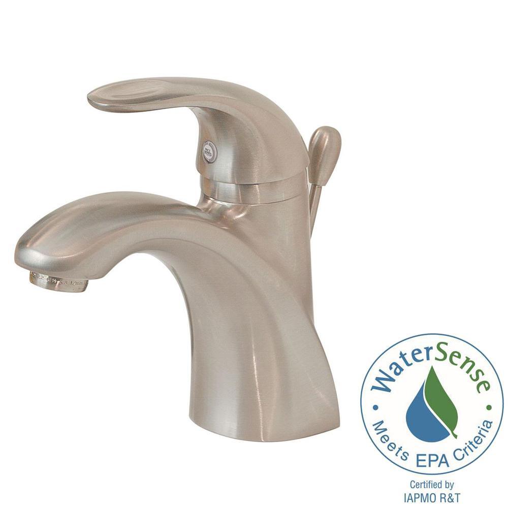 Pfister Parisa 4 in. Centerset Single-Handle Bathroom Faucet in ...