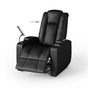 Fantastic Prolounger Upholstered Power Smart Reclining Chair In Black Creativecarmelina Interior Chair Design Creativecarmelinacom