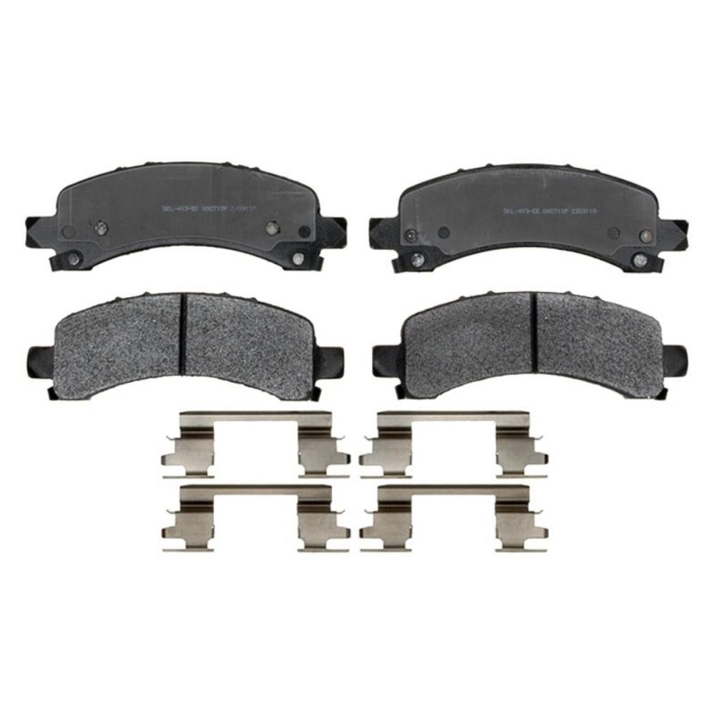 Disc Brake Pad Set-Semi Metallic Front,Rear ACDelco Pro Brakes 17D154MH