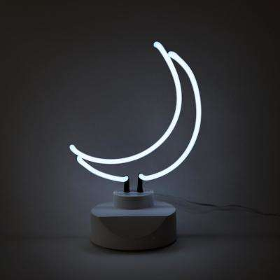 Oliver Gal 'Moon' Plug-in Neon Table Top Lighted Sign