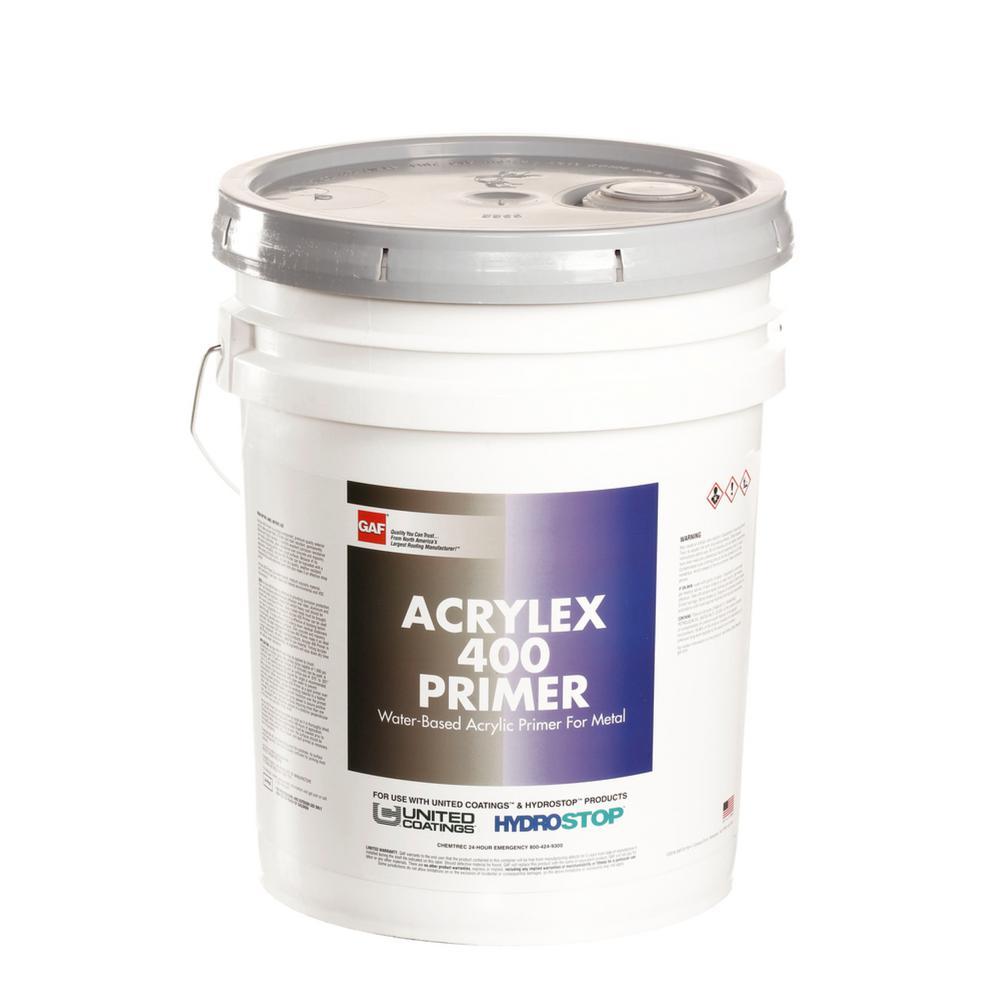 5 Gal. White Acrylex 400 Primer Roof Coating