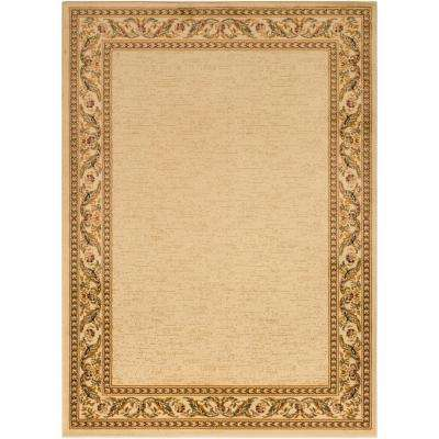 woven beige 7 x 9 area rugs rugs the home depot rh homedepot com