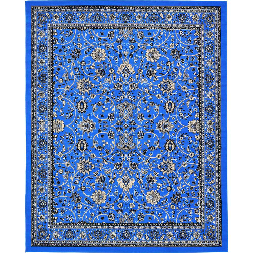 Red And Turquoise Rug Area Sophisticated Awesome Rugs In: Unique Loom Kashan Dark Blue 8 Ft. X 10 Ft. Area Rug