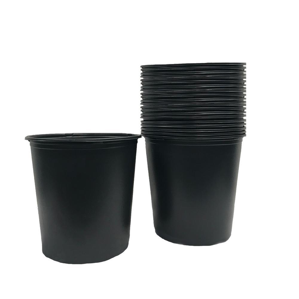 5 Gal. Garden Nursery Trade Pots (4.02 Gal / 15.19 l) (20-Pack)