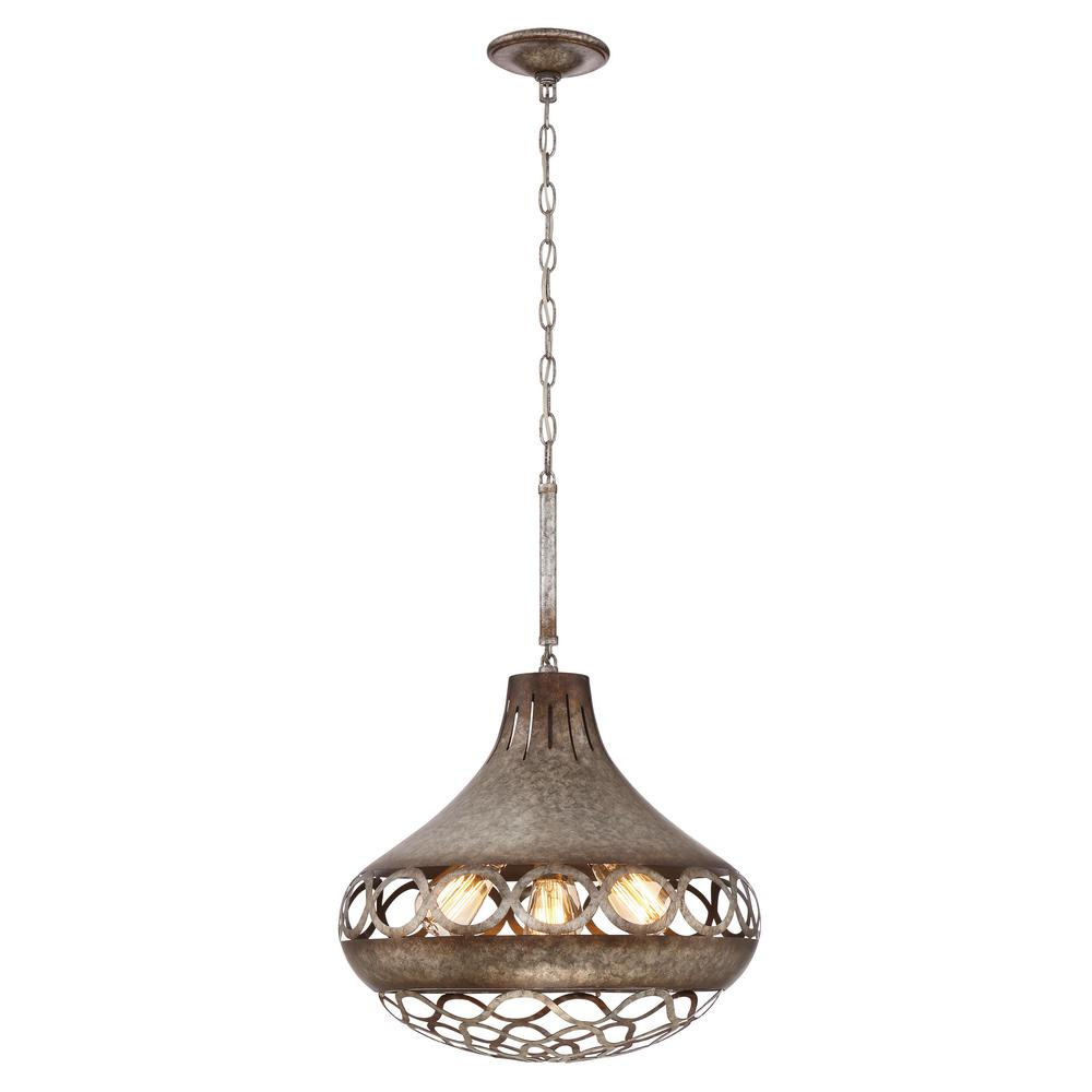 Mosto Collection 4-Light Chrome Pendant