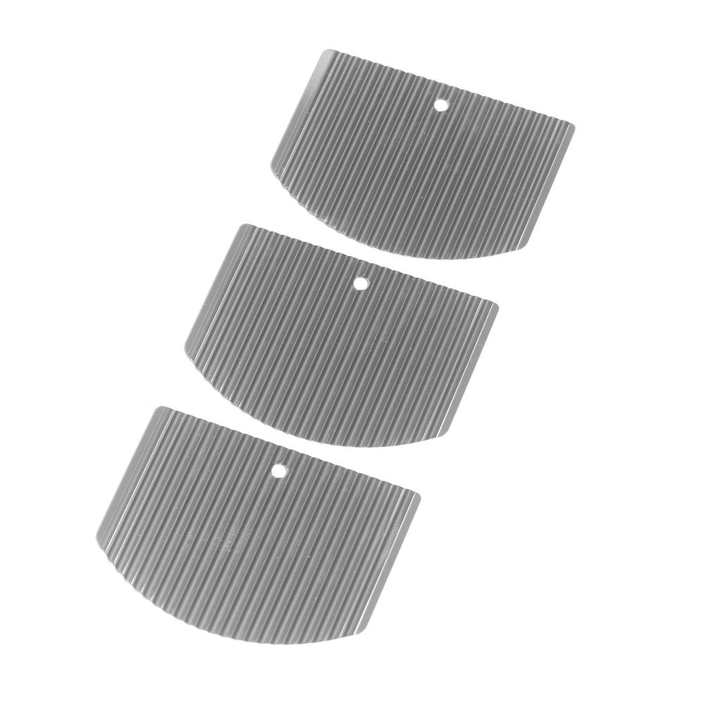 Stainless Steel Weed Cutter Pro Replacement Blade (Pack of 3)