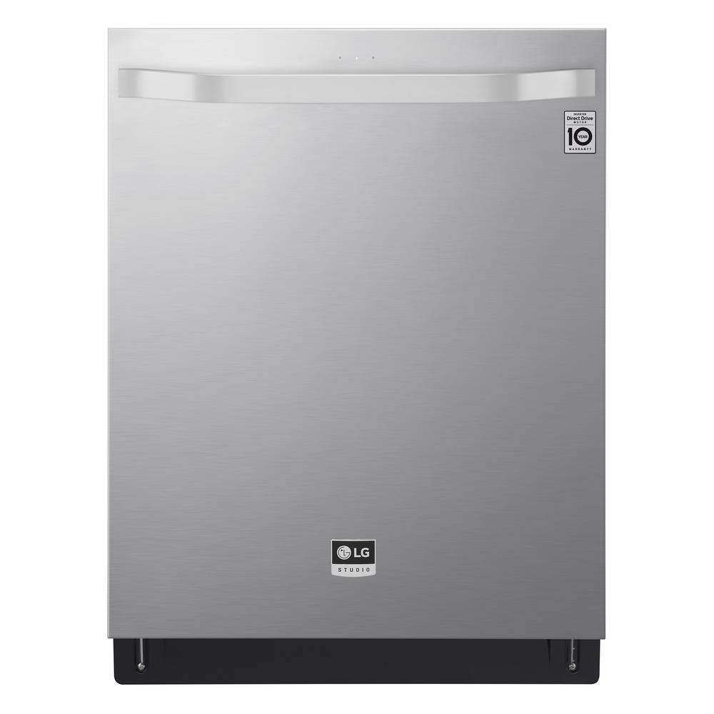 LG Electronics Top Control Dishwasher in Printproof Stainless Steel with QuadWash and TrueSteam was $1299.0 now $898.2 (31.0% off)