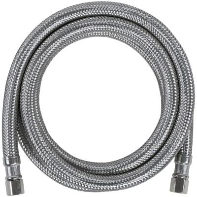 6 ft. Braided Stainless Steel Ice Maker Connector