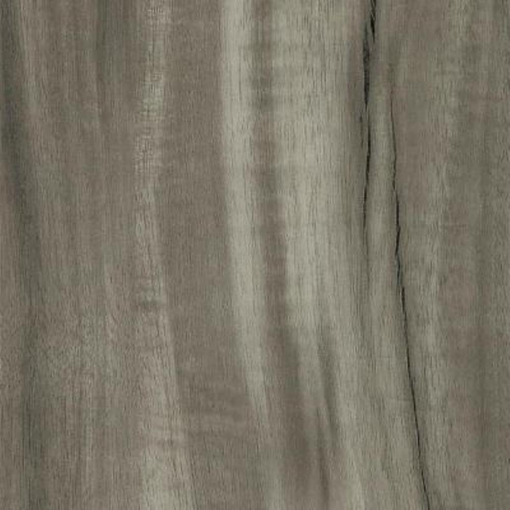 Take Home Sample - Acacia Smoke Click Lock Luxury Vinyl Plank Flooring - 6 in. x 9 in.