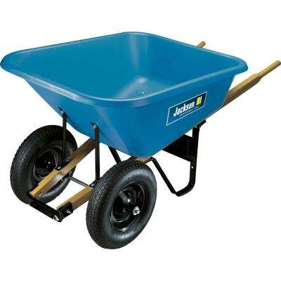 8 cu. ft. Poly Wheelbarrow