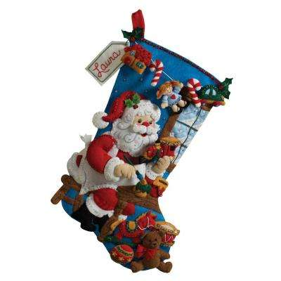 18 in. In The Workshop Adult Felt Stocking Kit