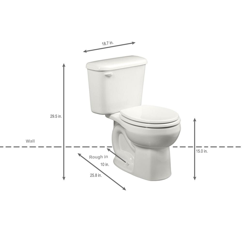 home depot small toilets