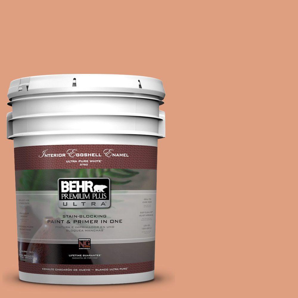 BEHR Premium Plus Ultra 5-gal. #230D-4 Pecos Spice Eggshell Enamel Interior Paint