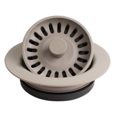 3-1/2 in. Kitchen Sink Decorative Disposal Flange in Concrete