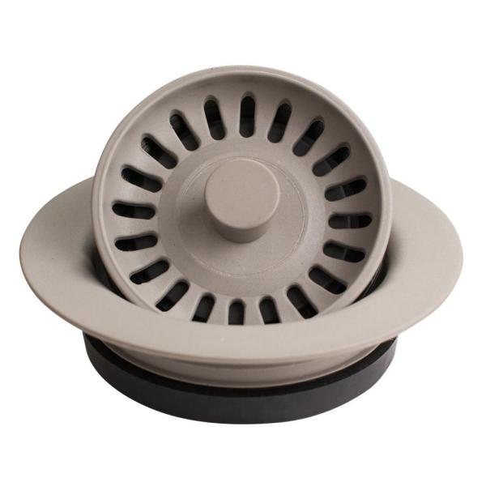 3-1/2 in. Kitchen Sink Decorative Disposal Flange in Concrete